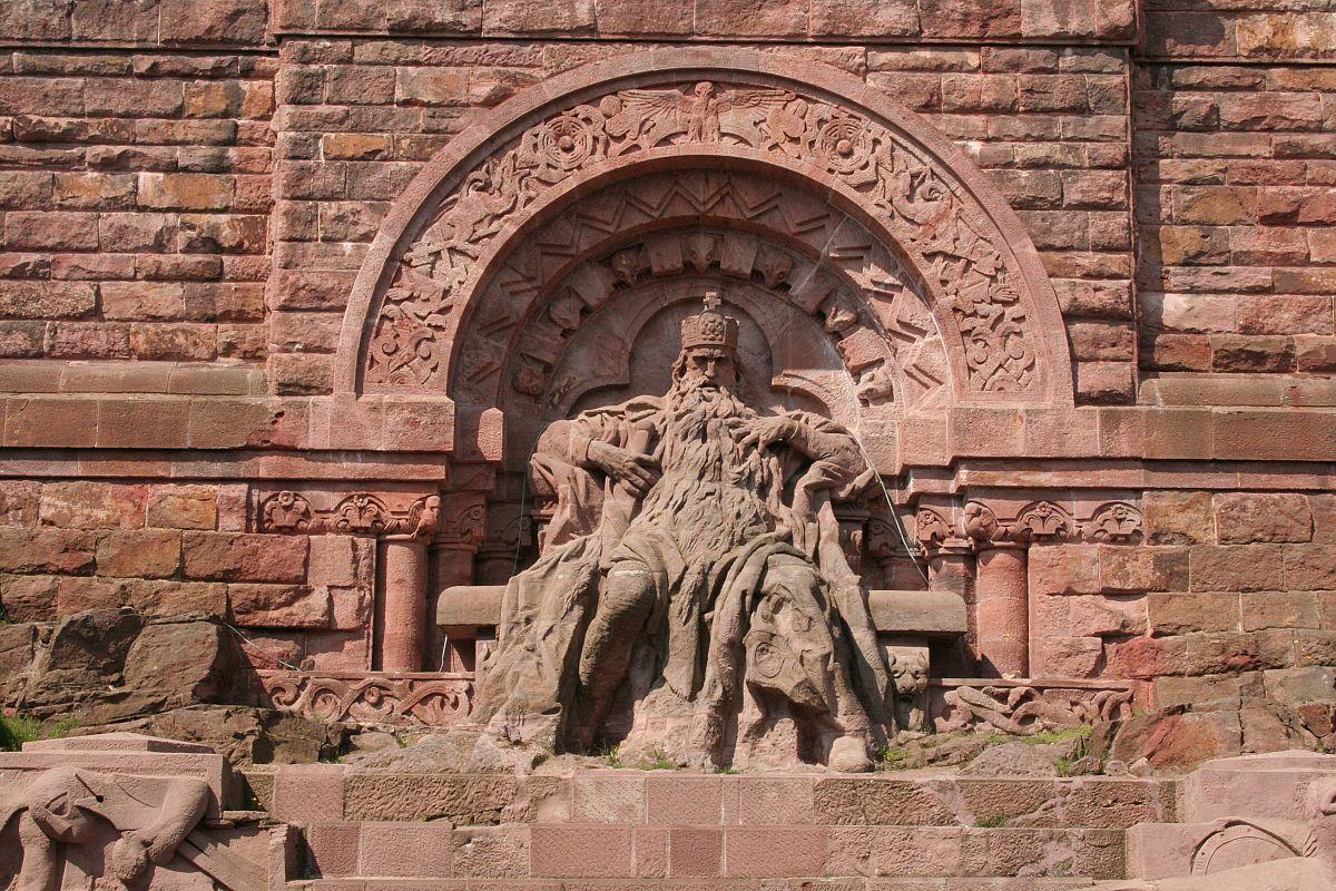 Картинки по запросу Kyffhäuser-Denkmal
